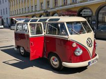 VW Samba stock image