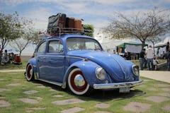 VW-sedan Stock Afbeelding