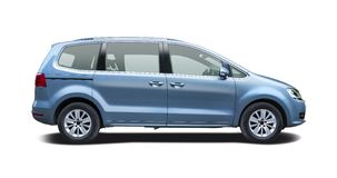 VW sharan Stock Photos