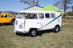 VW Split Window Bus Stock Photo