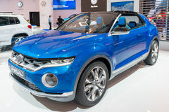 VW T-Roc Concept Car in the CIAS Stock Photography