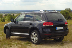 Vw touareg Stock Images