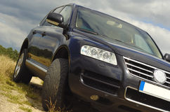 Vw touareg Stock Image