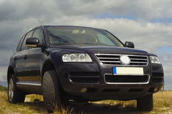 Vw touareg Stock Photo