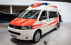 VW Transporter ambulance edition Royalty Free Stock Images