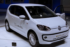 VW UP on 64rd IAA Stock Images