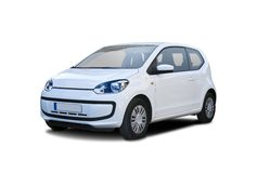 VW Up. Isolated on white Stock Images