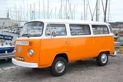 VW-Van Stock Afbeelding