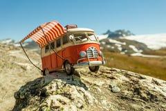 VW van model on 7 July 2018, Norway