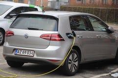 VW VOLKS WAGEN电汽车 图库摄影