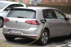 VW VOLKS WAGEN  ELECTRIC AUTO Royalty Free Stock Photos
