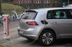 VW VOLKS WAGEN  ELECTRIC AUTO Royalty Free Stock Photo