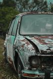 VW VOLKS WAGEN GAMLA BRASILIA arkivfoto