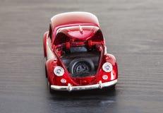 VW Volkswagen Beetle модели игрушки масштаба Стоковая Фотография