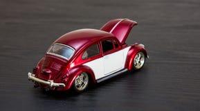 VW Volkswagen Beetle модели игрушки масштаба Стоковая Фотография RF