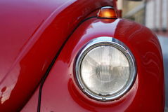 VW Volkswagen Beetle Old. Beautiful view of old red VW Volkswagen Beetle stock image