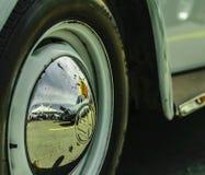 VW WHEEL TIRE NUT TURBO. SPORT WHEEL TIRE NUT FENDER BUMPER CAR LENS SPOILER DOOR RING CHROME BLACK VW VOLKS WAGEN STEERING STRIPS STREETS DECALS NISSAN TSURU Stock Image