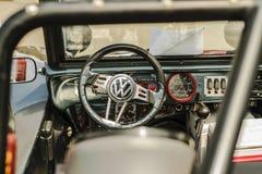 VW WHEEL TIRE NUT TURBO. SPORT WHEEL TIRE NUT FENDER BUMPER CAR LENS SPOILER DOOR RING CHROME BLACK VW VOLKS WAGEN STEERING Stock Image