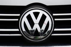 VW-Zeichen Stockfoto