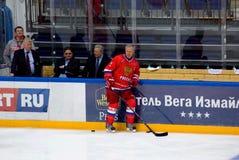 Vyacheslav Fetisov (2) resto Fotografie Stock Libere da Diritti