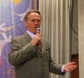 Vyacheslav Kobzev, ρωσικές πέρκες, εκτελεστής των εθνικών τραγουδιών Στοκ εικόνα με δικαίωμα ελεύθερης χρήσης