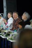 Vyacheslav Zaycev on student's fashion parade Stock Photography