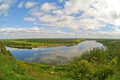 Vyatka flod Ryssland Royaltyfri Foto