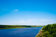 Vyatka river Stock Images