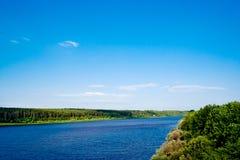 Vyatka river Stock Images