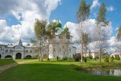 Vyazhishchsky Monastery Royalty Free Stock Image