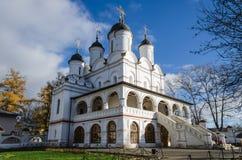Vyazyoma's estate. Transformation church. Royalty Free Stock Photography