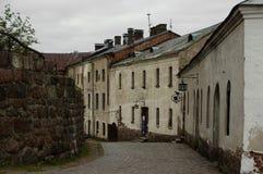Vyborg城堡 库存图片