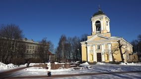 Vyborg εκκλησία λουθηρανικός Paul Peter Άγιος 4K φιλμ μικρού μήκους