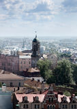 Vyborg. The city of Vyborg from height of a tower Royalty Free Stock Image