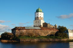 Vyborg Castle Stock Image