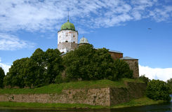 Vyborg Castle Stock Photos