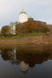 The Vyborg Castle Royalty Free Stock Photo