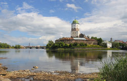 Vyborg castle. Castle in the city of Vyborg Royalty Free Stock Images