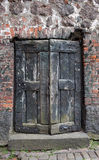 Vyborg Castle door Stock Images