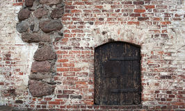 Vyborg Castle door Royalty Free Stock Images