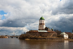 Vyborg Castle Royalty Free Stock Image