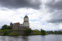 The Vyborg castle Stock Photography