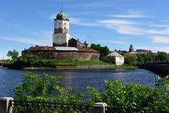 Vyborg castle Royalty Free Stock Photography