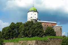 The Vyborg castle Royalty Free Stock Photography