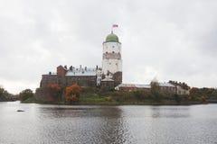 Vyborg Castle. Olaf Tower. Stock Photography