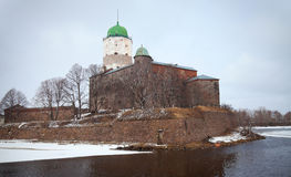 Free Vyborg Castle. Russia Stock Photo - 24448230