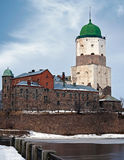 Vyborg Castle. Russia Stock Photo