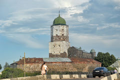 Vyborg Castle Stock Photography
