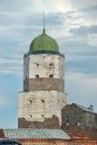 Vyborg Castle Stock Photo