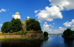 Vyborg Castle Royalty Free Stock Photo